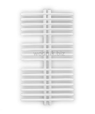 Grzejnik łazienkowy Biotherm Polinezja 63/115 1344W biały